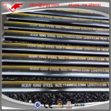 ASTM A106/API 5L GR. Tubulação 40/80 de aço sem emenda envernizada preta de carbono da programação de B