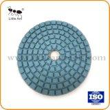 "3 "" Diamond Almofada de polir molhada flexível para Marble"