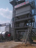 miscelatore 2000kg impianto di miscelazione dell'asfalto dei 160 t/h con il bruciatore di Riello