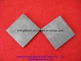 Parte cerâmica preta resistente de alta temperatura do carboneto de silicone