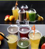 Tazza impaccante della bevanda del frappè di plastica a gettare e spesso della tazza