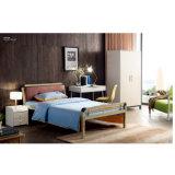 Металлическая двухъярусная кровать с Writting письменный стол для студенческих общежития зал