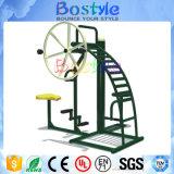 Constructor del hombro en juegos al aire libre de la aptitud de la gimnasia con el equipo de la comprobación de los deportes de las ruedas