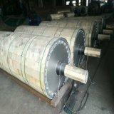 En el cilindro de secador de paño de la máquina de papel