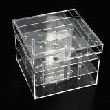 China Design Supply acrylic Flower Packaging box for single rose