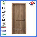 シャワープラスチックシートによって薄板にされるPVCドアの製造業者WPCのドアの滑走