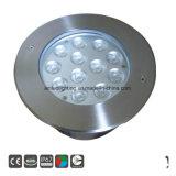 36W 24V ronda RGB LED Branco Quente Lâmpada Subterrâneo