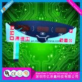 Las aplicaciones domésticas Interruptor de membrana teclado con Superposición de gráfico