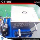 Macchina di plastica dell'appalottolatore della pellicola di raffreddamento ad acqua con la vite gemellare