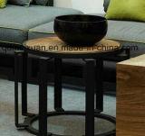 하십시오 오래된 나무로 되는 탁자, 단철 목제 둥근 탁자, 사무실 거실 탁자 (M-X3795)를
