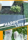 庭のNonwovenファブリック黒くか白い紫外線安定させたファブリック