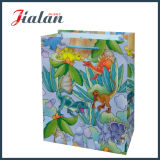 2016 crear las bolsas de papel de la alta calidad para requisitos particulares 3D de las ventas al por mayor de la insignia