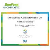 Anti-UV WPC Decking bois composite de revêtements de sol de plein air en plastique