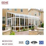 Chambre en verre de mémoire de Sunroom de jardin avec le profil en aluminium