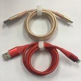 Nylon tressé câble IFM de charge rapide de la foudre pour iPhone et iPad X