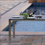 Table compact HPL moderne Fumeihua Outdoor 80cm