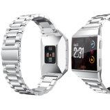 Fitbitのイオンバンドのためのステンレス鋼の金属の腕時計のアクセサリ