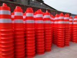 Barrières van de Weg van de Verkeersveiligheid de Water Gevulde Plastic