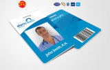 Plastik-Karte der Belüftung-Visitenkarte-RFID