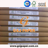 Types d'empaquetage d'OEM papier de sandwich à magnésium pour l'emballage de nourriture