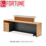 La madera oficina moderna mesa de recepción con alta calidad Foh-Rd-2410 (2)