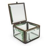 Hechos a mano precios baratos de Joyería de vidrio caja de embalaje para regalo de bodas romántica