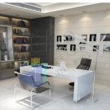 Forniture di ufficio di marmo bianche dello scrittorio del CEO di alta qualità