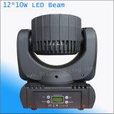 12*10W 소형 이동하는 헤드 LED 광속 빛