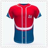Baseball Jersey di stampa dei vestiti di sublimazione
