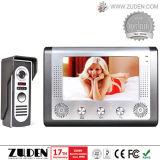 Telefone video da porta das câmaras de vídeo para o interfone video do edifício