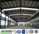 Professional ha diseñado en acero estructural de la construcción de Galpón de almacén