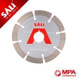 Sali hizo diamante de la perla las láminas de Sawing concretas al por mayor para la pared