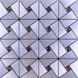 2017台所のための小さい六角形の金属のモザイク