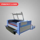 Schnelle Geschwindigkeits-Selbstzufuhr-Gewebe-Laser-Ausschnitt-Maschine mit 3 Jahren Garantie-