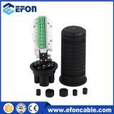 72 fibras do tipo dome exterior do compartimento do divisor de Fibra Óptica
