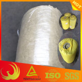 30mm-100mm feutre de laine de roche pour l'isolation thermique du tuyau