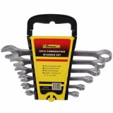 6PCS Cr-V Steel Matted Terminished Combined Spanner Set Wrench Set