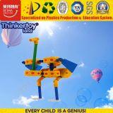 Edifício do ABS e brinquedo educacionais plásticos do bloco da construção