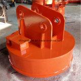 Elettromagnete di sollevamento dell'escavatore per gli scarti d'acciaio