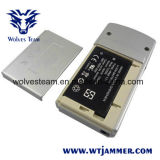 Mini telefono portatile argenteo delle cellule & emittente di disturbo di GPS (GSM, CDMA, DCS, GPS)