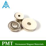 N50 Vier de Magneet van NdFeB van de Ring van de Stijl met het Magnetische Materiaal van het Neodymium