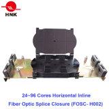 Coeurs de 24~96 horizontal de la fermeture de l'épissure à fibre optique en ligne
