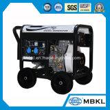 Draagbare 7kw Diesel van de Stroom Generator voor het Gebruik van het Huis met de Prijs van de Fabriek van de Generator