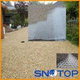 Plastique pavant des réseaux, stabilisation au sol, réseau de support de gravier