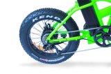 pneu gordo da bateria do Li-íon de 36V 10ah que dobra a bicicleta elétrica
