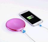 [Kingmaster] (fabbrica) (la Banca mobile portatile mobile di potere dello specchio del caricatore della Banca 2400mAh di potere dello specchio cosmetico rotondo di trucco 4-5.5$) 4000mAh può fare la capienza del cliente