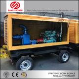 Bomba de agua de Diesel mueble con remolque de 3 pulgadas a 32 pulg.