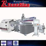 Las ventas de chorro de agua caliente de la máquina de corte