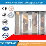 Feuerbeständige freie Glastür, sicher und frei