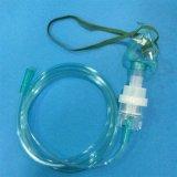 Nebulizador disponible aprobado del PVC de la ISO del Ce de la producción en masa con la máscara del aerosol